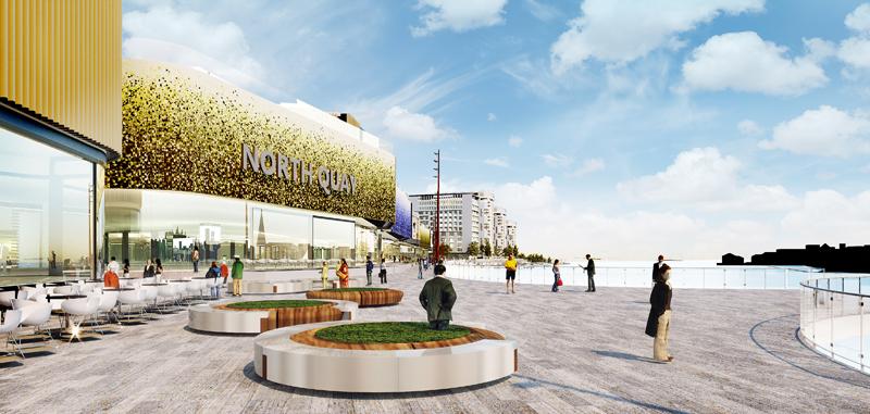 North Quays Mall Entrance