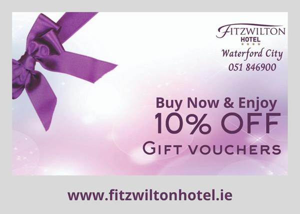 Fitzwilton Hotel Gift Vouchers